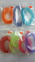 "XL /"" Fl.Red /"" Pearlescent,glow in the dark mylar piping  SALE EVERGLOW PIPING"