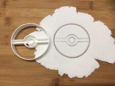 Pokemon Inspired Ball Pokeball Biscuit, Pastry, Fondant Cutter