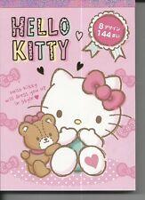 Sanrio Hello Kitty Notizblock extra dick pink Bär