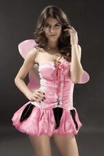 Sexy Women's Ladies Pixie Fairy Fancy Dress Costume