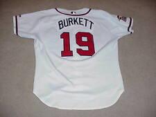 John Burkett Game Worn Jersey Atlanta Braves