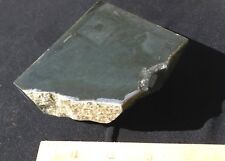 WYOMING BLACK JADE MODERN RELIC LASER ETCHED & CORE DRILL 1 LB+ OR 486 GRAMS