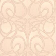 30-878 Graham and Brown Jazz Beige Swirl Geometric Modern Feature Wallpaper