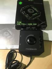 PHOINIKAS USB External Stereo Sound Card  HUB T-10