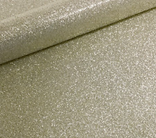 20 A4 PALE GOLD NON SHED SOFT TOUCH GLITTER PAPER, WHITE BACKED APPROX  150GSM