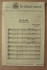 § partition ALLELUIA in resurrectione - Jakobus Gallus