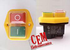 Interrupteur kedu kjd17B KB-01 bipolaire Bouton de commande et sécurité KJD 17