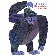 De La Cabeza a Los Pies: Head to Toe (Spanish Edition), Carle, Eric, Good Book