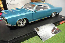 PONTIAC GTO Modified 1966 coupé bleu 1/18 HOT WHEELS B1528 voiture miniature