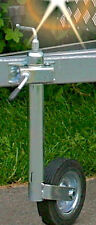 Stützrad für PKW Anhänger Wohnwagen Anhängerstützrad mit Halterung Bugrad NEU