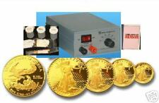 24kt Gold/Chrome/silver/Rhodium Plating Machine, with 4oz 24K Gold Solution