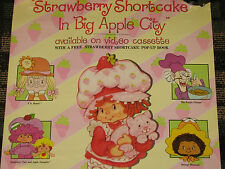 Vintage Strawberry Shortcake Movie Poster In Big Apple City VHS Release 1981