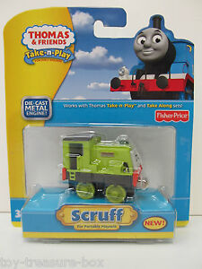 Thomas & Friends Take-n-Play or Take Along Portable Railway SCRUFF Vehicle