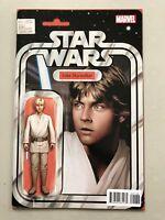 Star Wars (2015 Marvel) #1 Luke Skywalker Action Figure Variant NM Near Mint