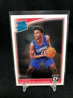 2018-19 PANINI DONRUSS OPTIC SHAI GILGEOUS-ALEXANDER #162 RATED ROOKIE M24