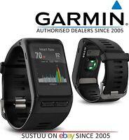 Garmin Vivoactive HR GPS Smart Watch│Wrist Heart Rate│Running Sports│Reg Black