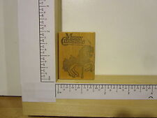 Rubber Stamp by RUBBER HEADS Merry Christmas Carousel Horse