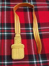 T C ROYAL NAVY OFFICER SWORD KNOT GOLD/BRITISH ARMY SWORD KNOT/SWORD KNOT GOLDEN