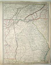Florida North South Carolina Tennessee Alabama Georgia Atlanta Macon Athens