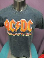 Mens Licensed AC/DC ACDC Highway To Hell Shirt New S