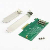 Adapter Card to PCI-E 4X for 2013 2014 MacBook Air A1465 Pro A1398 Retina SSD