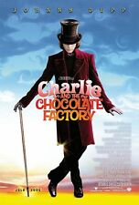 Charlie and the Chocolate Factory Johnny Depp Double Sided Movie Poster - B