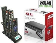 AKAI a51002 Compatto Lettore DVD con USB piu + gagi in metallo supporto remoto
