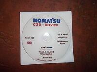 Komatsu wa100 1 thru wa500 1 wheel loader service handbook shop komatsu wa350 1 thru wa500 6 wheel loaders service shop repair manual cd sciox Gallery