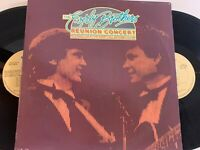 The Everly Brothers ‎– Reunion Concert Lp 1983 Passport Records PB 11001 VG/EX
