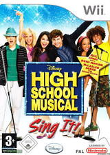 Wii Disney High School Musical: Sing It! Game Only 2007 Nintendo