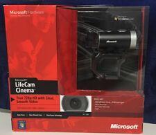 Microsoft LifeCam Cinema HD Webcam 720p Factory Sealed