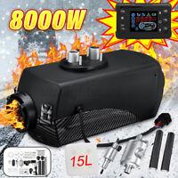 8KW Air Diesel Standheizung PKW LKW Heater Heizung + Schalldämpfer +15L Tank -
