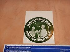 Original 1974 Robert Palmer, Sneakin' Sally Through The Alley Sticker 5.5""