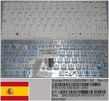 Teclado Qwerty Español MEDION MD2 MD4 X-Slim V103522BK1 S1N-1EES3A1-SA0 BLANCO