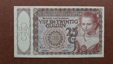 05 Netherlands/Niederlande P60 25 Gulden 1943