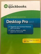 QuickBooks Desktop Pro 2017 Small Business Accounting Software [PC Disc] New