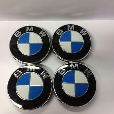 Genuine BMW Set of 4 Wheel Center Caps with BMW Emblem 36136783536