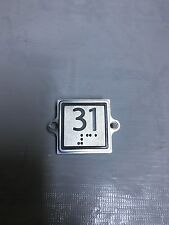 New Kone 853343H03(G01-G06) Square elevator Button L31 KM863053G065H114 KDS300