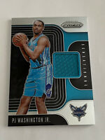 2019-20 Panini Prizm Sensational Swatches Jersey PJ Washington Jr #SS-PJW Rookie