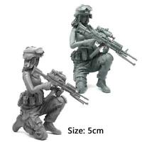 1/35 Modern Army Female Soldier Series Individual Soldier Model Kit Resin F H1V6