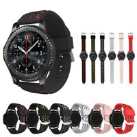 Durable Sport Soft Silicone Watch Band For Samsung Gear S3 Classic / Frontier