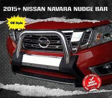 Nissan Navara NP300 D23 2015 2016 2017 2018+ Nudge Bar Stainless Steel OE Style