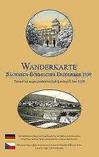 WANDERKARTE - Sächsisch-Böhmisches Erzgebirge 1939 - Sonnenblumen Verlag
