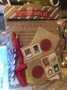 Letter to Santa Kit Letter from Santa Kit Christmas Xmas Wish list