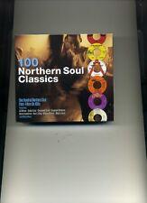 100 NORTHERN SOUL CLASSICS - WILSON PICKETT DOBIE GRAY MARY WELLS - 4 CDS - NEW!
