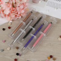 pen box plastic transparent case pen holder gift for crystal pen package box HIJ