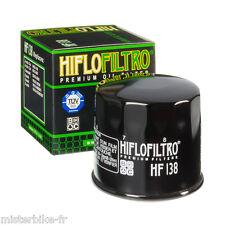 Filtre à huile Hiflofiltro HF138 SUZUKI SFV 650 Gladius / SV 600 / GSR 750