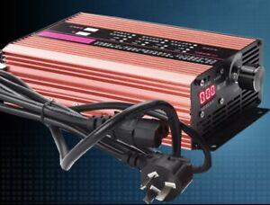72V Li-ion Lipo LiFePo4 LFP Battery 1-12a Adjustable Super Fast Charger