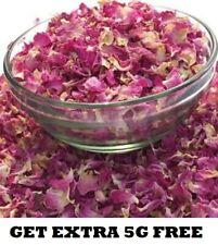 Edible Dried Rose Petals Biodegradable Wedding Confetti Decoration Free UK P&P