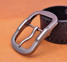 Solid Strong Rectangular Antique Silver Center Bar Pin Belt Buckle Inner 40mm